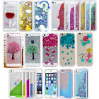 3D Dynamic Stars Bling Liquid Quicksand Case Cover for iPhone 5/5s/SE/6/6 Plus