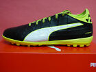 NEW PUMA evoTOUCH 3 Men's Turf Soccer Shoes - Black/Yellow;  10375401