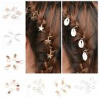 5Pcs Fashion Lovely Women Personality Pigtail Plait Hair Clips Tress Clamp Decor