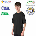 Kids Plain 100% Cotton School Sports PE T-Shirt 11 Colours 6 Months-13 Years