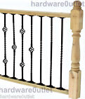 Steel Twisted  Bar 12mm - Balustrade Staircase Decking Handrail Security Bars