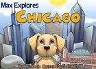 MAX EXPLORES CHICAGO by Reji Laberje (2014, New Board Book) FREE SHIPPING