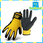 Caterpillar Nitrile Coated Anti-Slip Work Garden Gloves SAFETY GEAR CHEAP DEAL