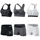 Nike Pro Shorts & Nike Sports Bra Exploded Nike Logo NWT - Each Sold Separately