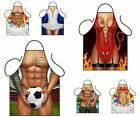 NOVELTY SEXY APRONS BBQ RUDE FUNNY BIRTHDAY MENS WOMENS HEN PARTY PRESENT GIFT
