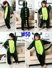 Kid Pajamas Kigurumi Unisex Cosplay Animal Costume party sleepwear dinosaur cat
