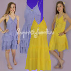 Girls Summer Dress RA RA Style Strappy Dress Diamante Jewel New ** Last Ones **