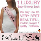 Mummy To Be Baby Boy Girl Shower Sash Party Sashes Newborn Quality
