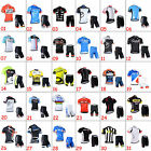 Hot Sale Mens Cycling Sports Jerseys Shorts Outfits Cycle Maillot Pants Suits