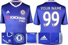 *16 / 17 - ADIDAS ; CHELSEA HOME SHIRT SS / PERSONALISED = KIDS SIZE*