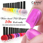 14ml CANNI Water Base Peel Off Gel Nail Polish Soak Off - Top Coat - UK Stock