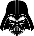 Star Wars - Darth Vader Variation 2 - Vinyl Car Window and Laptop Decal Sticker $5.99 USD