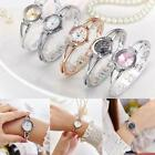 Fashion Crystal Rhinestone Watches Women's Quartz Bracelet Bangle Wrist Watch