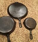 GRISWOLD Cast Iron skillet Griddle 6 3 109 202 Skillets Small Block Logo