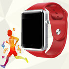 A1 Android Bluetooth Smart Watch Phone Mate for Samsung iPhone Camera Fitness US