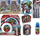 CHILDRENS BOYS GIRLS MARVEL AVENGERS ACCESSORIES LUNCH BAG BEDDING GIFT IDEAS