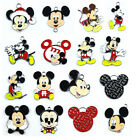 Lot Mixed Mickey Mouse Enamel Metal Charms Pendant Jewelry Making Party Gift E76
