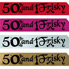BIRTHDAY GIRL 50TH PARTY SASH NIGHT OUT ACCESSORY GIRLS SASHES FUN FIFTY 50 TH f