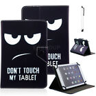 "US For 9.7"" 10.1"" Andriod /Windows Tablet iPAD Universal Flip Leather Case Cover"
