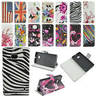 Magnetic Flip Stand PU Leather Card Wallet Soft Cover Case For Nokia Lumia N535