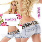 Sexy Women's Ladies Hot Pants Jeans Denim Shorts Size 6 8 10 12 14 XS S M L XL