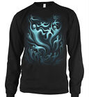 Ghosts Halloween Trippy Boo Spirits Trick Or Treat Candy Scary On Men's Thermal