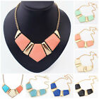 Hot Sale Fashion Women Bib Pendant Chain Choker Chunky Collar Statement Necklace