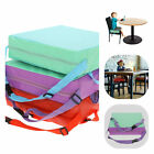 Children Kids Increased Soft Chair Seat Highchair Mat Dining Booster Cushion Pad