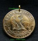 ANTIQUE FRANCE - 1863 - THE EAGLE - NAPOLEON III - 153 Years Old - Genuine Coin