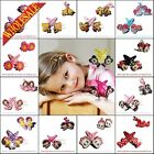 New Mickey Cartoon Hair Clip+Hair Band 2Pairs Kids hairpins Hair Accessories