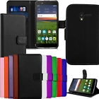 Premium PU Leather Wallet Flip Stand Case Cover For Alcatel One Touch Phone