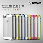 Cubix@ Luxury Ultra Thin Hybrid Protective Hard Clear Case For iPhone 7 / 7 Plus