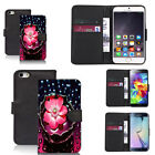 black pu leather wallet case cover for many mobiles design ref q454