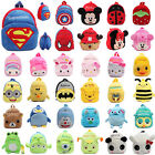 Plush Animal Toddler Backpack Schoolbag Kids KittyCartoon Soft Shoulder Rucksack