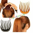 Donne moda acconciatura clip Stick Bun Maker Braid Strumento Accessori Capelli
