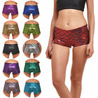 Summer Yoga Pants Gym Workout Casual Sports Shorts Waistband Skinny Yoga Short