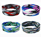 Camo Prints Cotton Sports Headbands Fashion Yoga Men and Women Hairbands