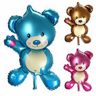 "New Cute 32"" Baby Air Balloon Birthday Party Decoration Foil Balloons Teddy Bear"