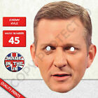 Jeremy Kyle Celebrity Card Mask - Fun For Dinner Parties