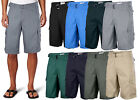 One Tough Brand Mens CLASSIC CARGO SHORTS Belted Cotton Multi Colors Size 30-40