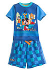 "Disney Store Mickey Mouse and Friends ""Fab 4"" PJ Pals Short Sleep Set For Boys"