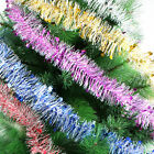 2M Colorful Garland Ribbons with Star Party Wedding Christmas Tree Ornaments Pop