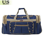 "26"" Waterproof Overnight Tote Travel Gym Sport Bag Duffle Carry On Luggage"