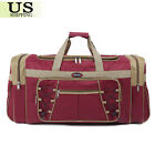 """26"""" Waterproof Overnight Tote Travel Gym Sport Bag Duffle Carry On Luggage"""