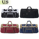 26' Waterproof Overnight Tote Travel Gym Sport Bag Duffle Carry On Luggage