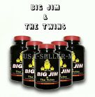 BUY 4 GET 3 FREE Penis Enlargement Big Jim & The Twins Natural Male Enhancement