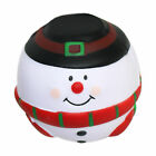 Christmas Snowman Soft Lightweight Foam Stress Ball Secret Santa Gift günstig