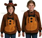 OFFICIALLY LICENSED Five Nights at Freddys Cosplay Costume Hoodie For Youth Kids