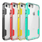 Shockproof Soft Rubber Bumper+Hard PC Back Case Cover For Apple iPhone 7 7Plus