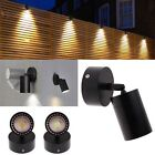 Stainless Steel Wall Sconce Light Lamp LED Black Outdoor Single Head Light Porch
